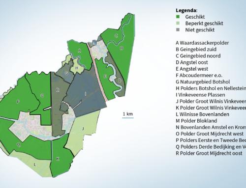 Voorstel eerste zoekgebieden voor windmolens en zonneparken naar gemeenteraad.